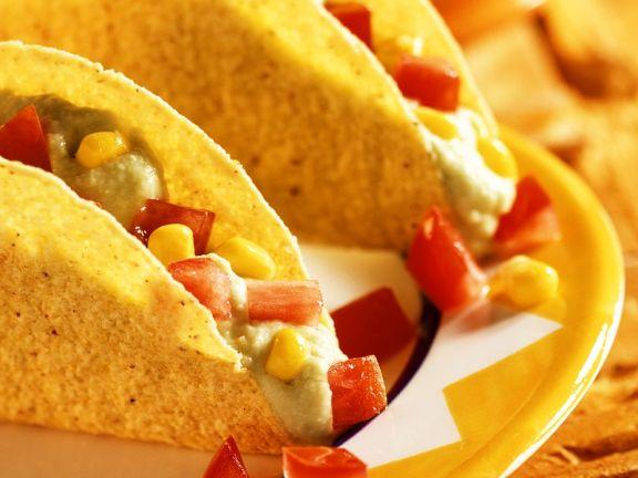 Gefüllte Taco-Shells