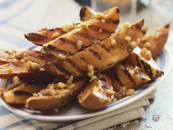 Gegrillte Süßkartoffelsticks