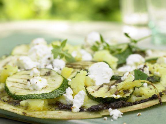 Gegrillte Tortillas