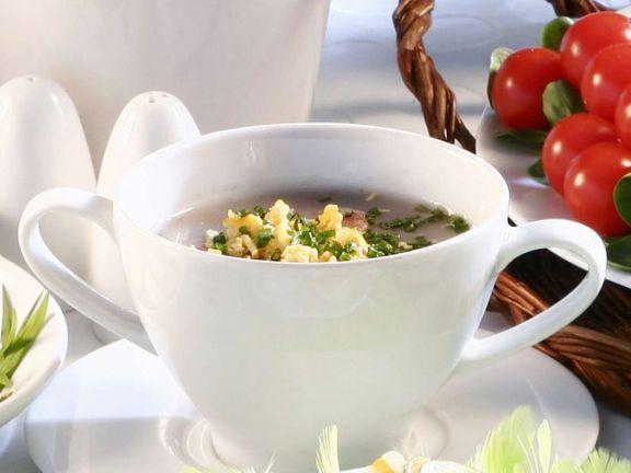 Gekühlte Rote-Bete-Suppe