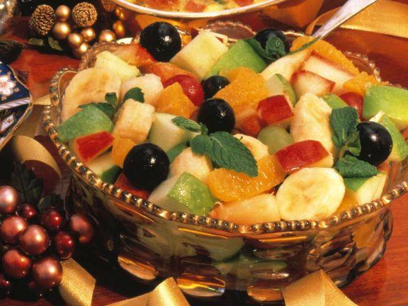 Gemischter Fruchtsalat