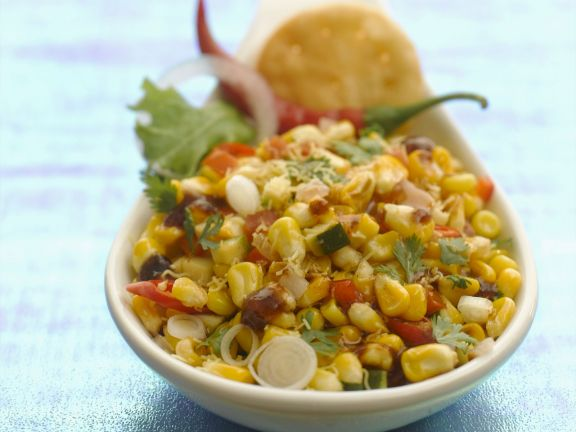 Gemischter Maissalat
