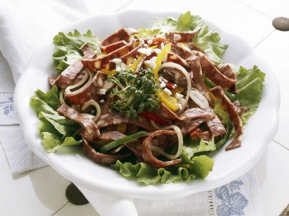 Gemischter Wurstsalat