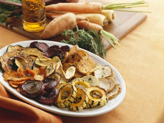 Gemischtes gebratenes Gemüse