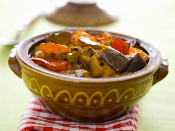Gemüse auf bulgarische Art