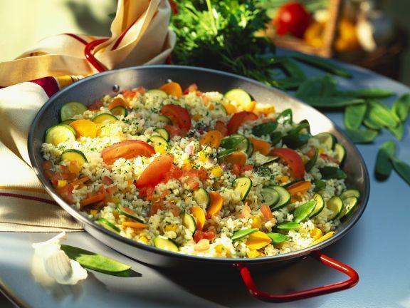 Gemüse-Bulgur