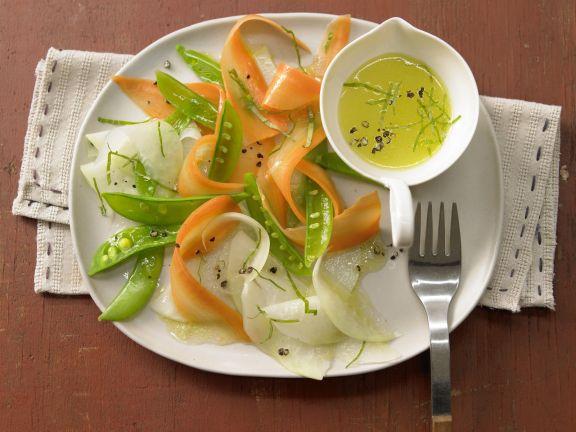 Gemüse-Carpaccio