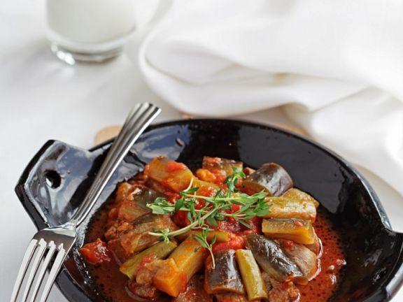Gemüse-Lammeintopf