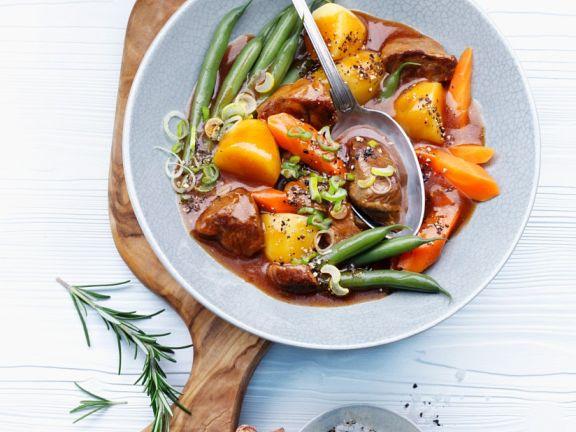 Gemüse-Lammragout