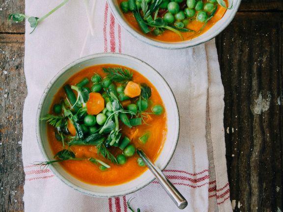 Gemüse-Minestrone