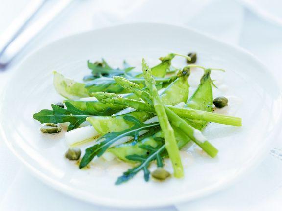 Gemüse mit Thunfischsauce