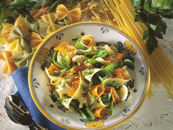 Gemüse-Pasta