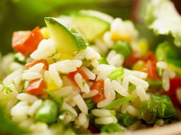 Gemüse-Reissalat