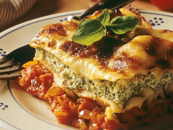 Gemüse-Ricotta-Lasagne