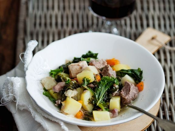 Gemüse-Rindfleisch-Eintopf