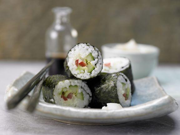 Gemüse-Sushi