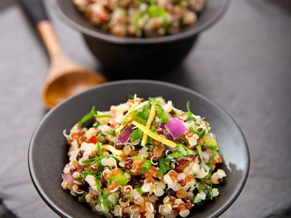 Gemüse-Taboule mit Quinoa