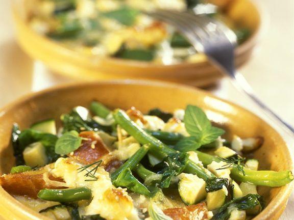 Gemüseauflauf mit Käse