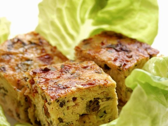 Gemüseauflauf-Würfel