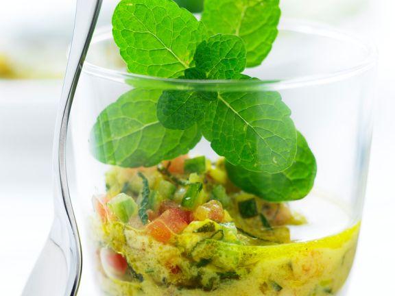 Gemüsedressing mit Curry