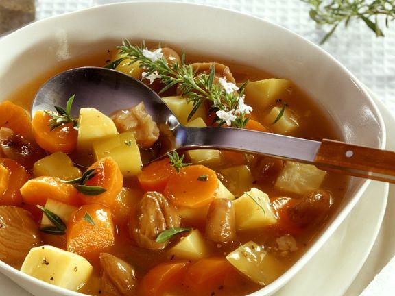 Gemüseeintopf mit Maroni