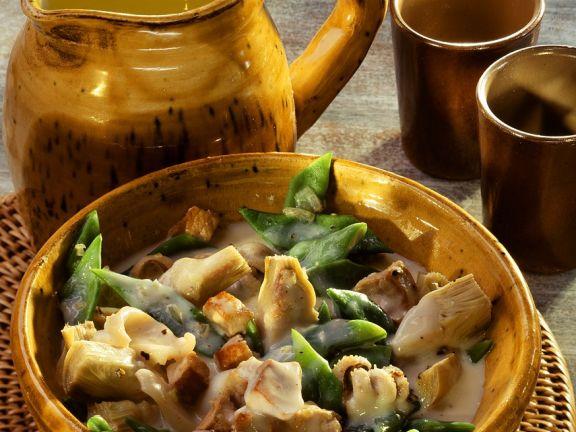 Gemüseeintopf mit Sepia