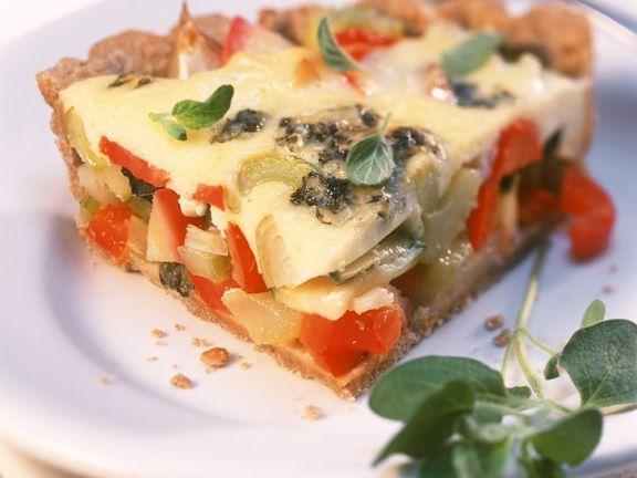 Gemüsetortenrezept für Diät