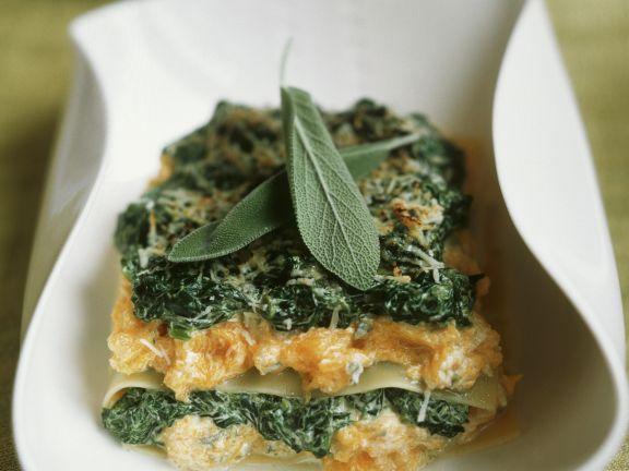 Gemüselasagne mit Salbei