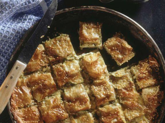 Gemüsepastete und kleine Pasteten aus Kreta