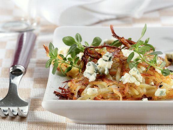 Gemüserösti mit Käse