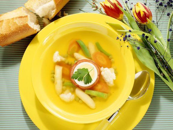 Hühner-Gemüsesuppe