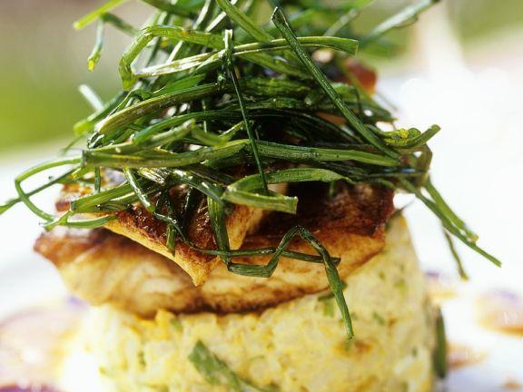 Gemüsetörtchen mit Fisch