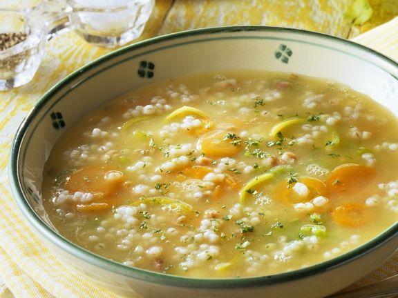 Gersten-Gemüsesuppe