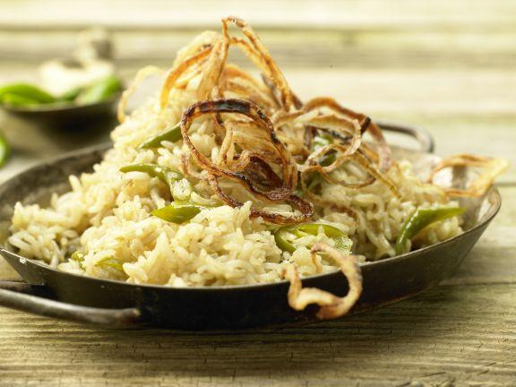 Geschmorter Reis