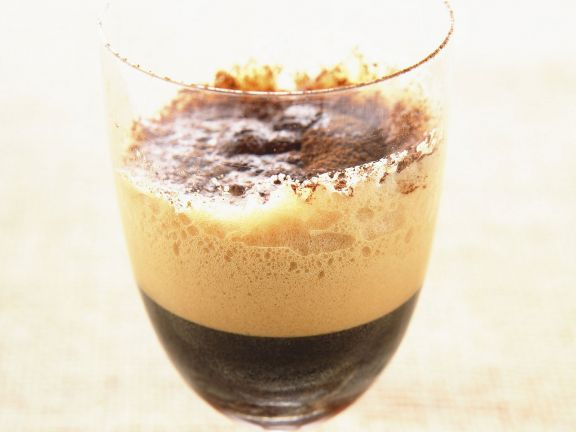 Geschüttelter Eiskaffee (Caffe Shakerato)