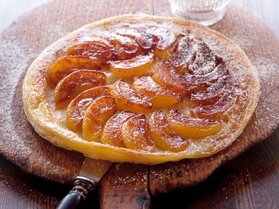 Gestürzter Apfelkuchen (Tarte Tatin)