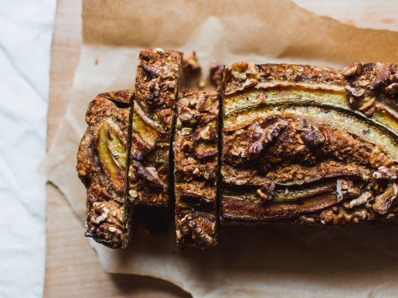 Schnell zubereitet und saftig: Gesundes Bananenbrot! |Photo: © Unsplash/ Klara Avsenik