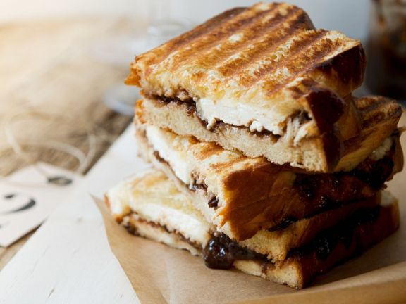 Getoastete Käse-Sandwiches