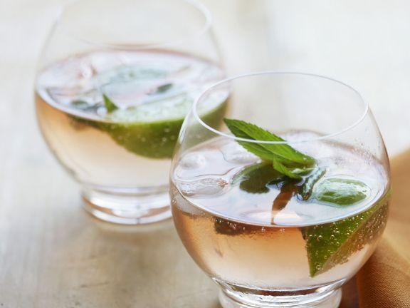 Gin Bitter mit Minze
