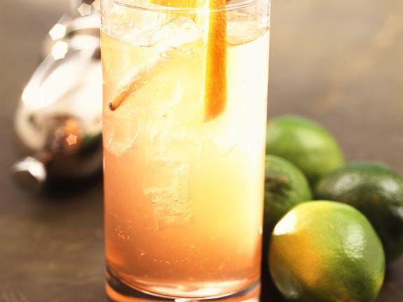 Gin-Orangen-Drink