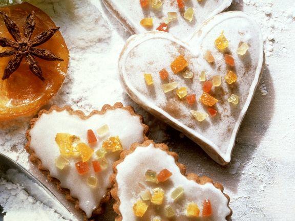 Glasierte Lebkuchen