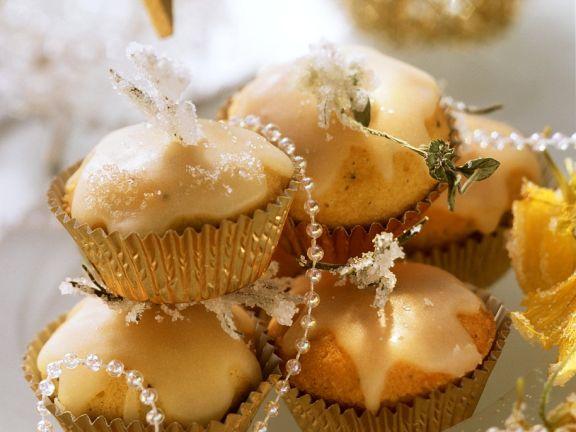Glasierte Minimuffins