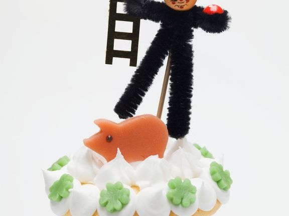 Glücks-Cupcake