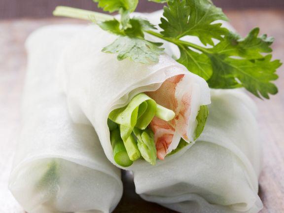 Glücksrollen auf vietnamesische Art