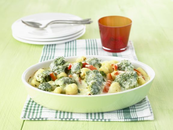 Gnocchi-Brokkoli-Gratin