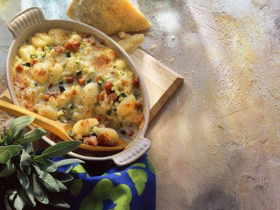 Gnocchi-Gemüsegratin