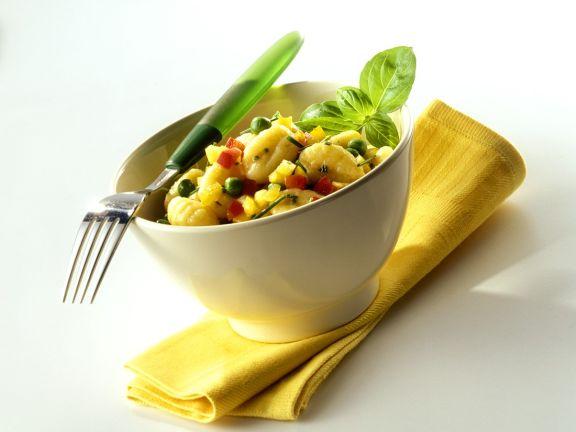 Gnocchi-Gemüsesalat