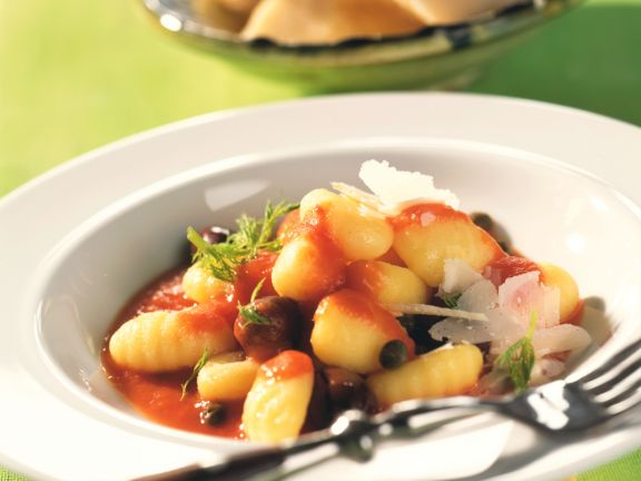 Gnocchi mit Paprika-Fenchel-Sauce