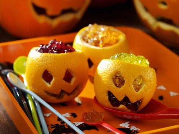 Götterspeise zu Halloween
