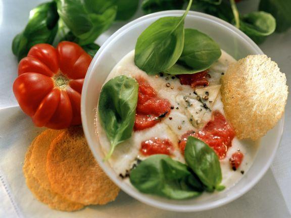 Gorgonzolacremesuppe